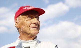 Niki Lauda macht nach seiner Lungentransplantation gute Fortschritte. (Foto)