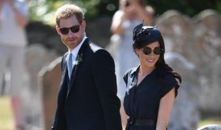 Royal-Fans erwarten gespannt, dass Prinz Harry und Herzogin Meghan Eltern werden. (Foto)
