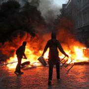 Während des Treffens der G20-Staaten war Hamburg von schweren Ausschreitungen erschüttert worden. (Foto)