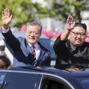 Nordkoreas Machthaber macht auf dem Korea-Gipfel neue Zugeständnisse. (Foto)