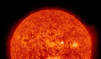 Die Folgen eines Mega-Sonnensturms auf die Erde wären verheerend. (Foto)
