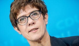 CDU-Generalsekretärin Kramp-Karrenbauer fand eindringliche Worte. (Foto)