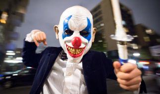 Horror-Clowns verbreiten vor Halloween wieder Angst und Schrecken (Foto)