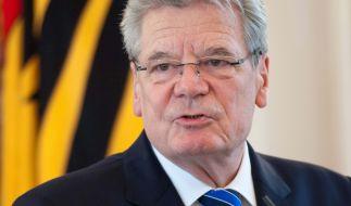 Joachim Gauck war von März 2012 bis März 2017 Bundespräsident von Deutschland. (Foto)
