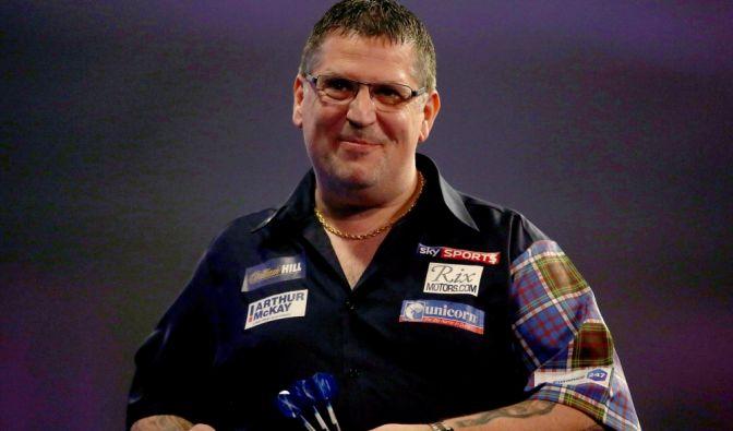 Gary Anderson (* 1970), Schottland, aktiv seit 2000, Spitzname