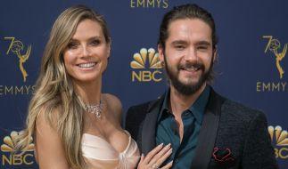 Heidi Klum und Tom Kaulitz als frisch verliebtes und äußerst fotogenes Paar. (Foto)