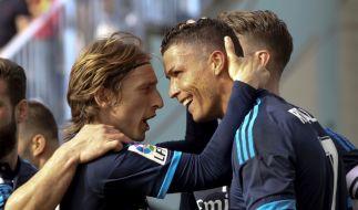 Luka Modric und Cristiano Ronaldo sind Top-Favoriten für den Titel des Weltfußballers. (Foto)