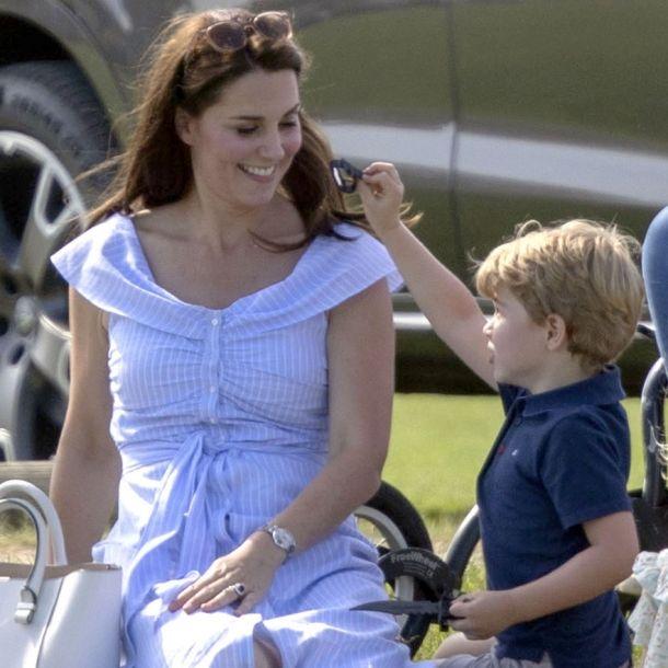 SO lässt Prinz George Herzogin Kate vor Stolz platzen (Foto)