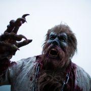 Ein professioneller Erschrecker verkleidet sich als Wolfmann - doch ist die sagenumwobene Kreatur mehr als ein Hirngespinst? (Foto)