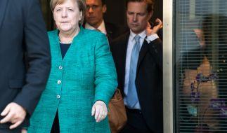 """""""Das will ich nicht beschönigen"""": Merkel räumte nach der Brinkhaus-Wahl ihre Niederlage ein. (Foto)"""