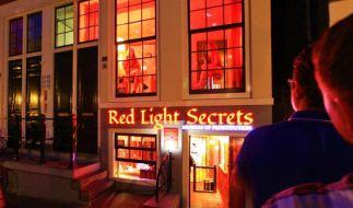 Der Name ist Programm: Das Rotlicht-Museum Red Light Secrets in Amsterdam bietet Besuchern einen Einblick in die Arbeit von Sexarbeiterinnen. (Foto)
