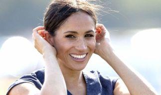 Wird Meghan Markle die gute Laune vergehen, wenn ihr ihre streitsüchtige Halbschwester Samantha Markle auf die Pelle rückt? (Foto)