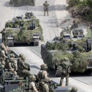 Größtes Militärmanöver seit Ende des Kalten Krieges (Foto)