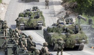 """Das in vier Wochen beginnende Nato-Manöver """"Trident Juncture 2018"""" soll das größte seit dem Ende des Kalten Krieges werden. (Foto)"""