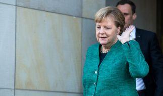 Einer Koalition mit der AfD in Sachsen schließt Kanzlerin Merkel momentan aus. (Foto)