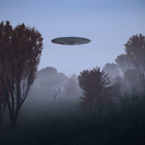 Wurde HIER etwa ein UFO abgeschossen?! (Foto)