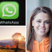 Vanessa Mai im Playboy? // WhatsApp-Werbung bei DIESE Geräte // Erster Schnee im Oktober? (Foto)