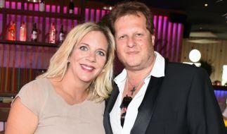 Jens Büchner und seine Frau Daniela. (Foto)
