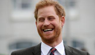 Da hat Prinz Harry allen Grund zum Lachen. (Foto)