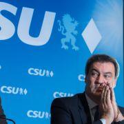 CSU droht Machtverlust! Partei rutscht auf 33 Prozent (Foto)