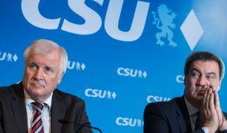 In einer aktuellen Umfrage landet die CSU nur bei 33 Prozent. (Foto)