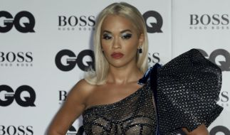 "Rita Ora bei der diesjährigen Verleihung der ""GQ Men of the Year Awards 2018"" in London. (Foto)"