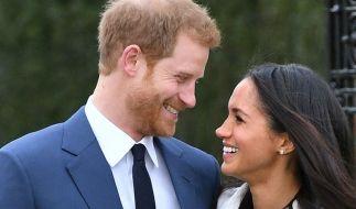 Gaben ihre Verlobung im Kensington Palast bekannt: Meghan Markle und Prinz Harry. (Foto)