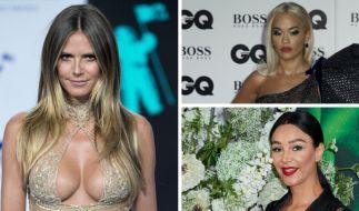 Heidi Klum, Rita Ora und Verona Pooth gewährten in dieser Woche tiefe Einblicke. (Foto)