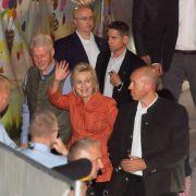 Bill Clinton in Tracht - Obama auf Wiesn vermisst! (Foto)