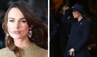 Keira Knightley rügt Kate Middleton. (Foto)