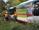 Skurriler Unfall in Gießen