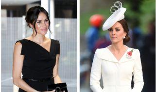 Die Fans von Kate Middleton und Meghan Markle streuen Zwietracht. (Foto)
