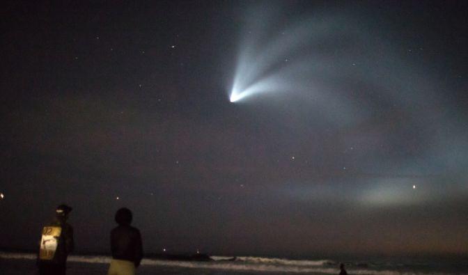 Falcon-9-Rakete