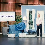 SO funktioniert der platzsparende Wäscheständer für Bettwäsche (Foto)