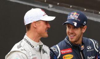 Sebastian Vettel vermisst Formel-1-Rekordweltmeister Michael Schumacher als Ratgeber. (Foto)
