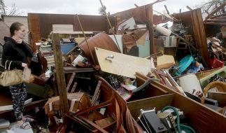 "Monster-Hurrikan ""Michael"" traf Florida mit voller Wucht. (Foto)"