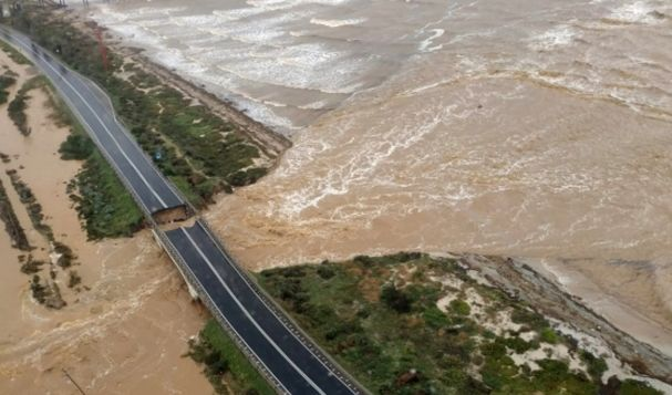 Hochwasser-Drama auf Sardinien