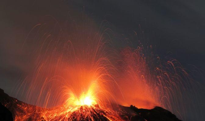 Erst diesen Sommer ist der sizilianische Vulkan Ätna wieder ausgebrochen.