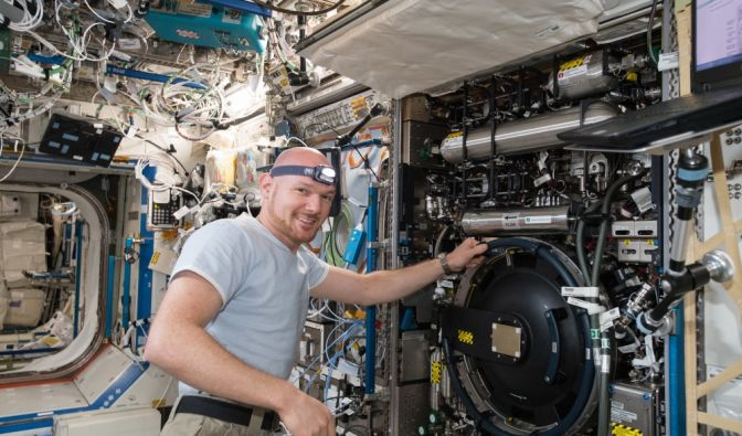 ISS-Notlandung