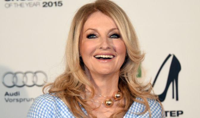 TV-Moderatorin Frauke Ludowig kennt man stets topgestylt und aufwändig geschminkt.