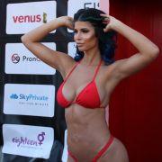 Micaela Schäfer war bei der Eröffnungsshow der Venus 2018 in Berlin natürlich einer der Stars schlechthin.