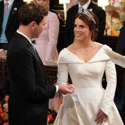 Die britische Prinzessin Eugenie von York heiratete am 12. Oktober 2018 ihren langjährigen Freund Jack Brooksbank. Alle Bilder von der royalen Traumhochzeit hier!