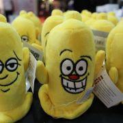 Diese Stofftiere/-Kondome sahen nicht nur süß aus. Sie lachten sogar!