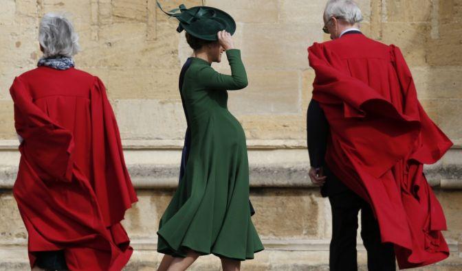 Hochschwanger erschien Kates Schwester Pippa bei der Hochzeit.