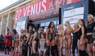 Sie sind die Stars der Venus, aber natürlich hat die Erotikmesse noch weit mehr zu bieten! (Foto)