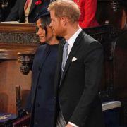 Versteckt Meghan Markle unter diesem Mantel wirklich einen Babybauch?