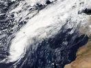 Ex-Hurrikan Leslie erreicht Europa. (Foto)