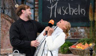 """Kiwi flirtete im """"Fernsehgarten"""", was das Zeug hält. (Foto)"""