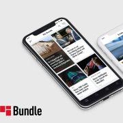 Die Nachrichten-App Bundle können Sie kostenlos für iOS und Android herunterladen. (Foto)