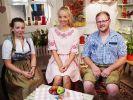 Tayisiya Morderger (m.) mit Jungbauer Matthias und KonkurrentinLaura Martina. (Foto)